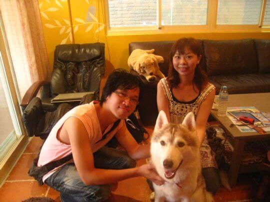 2010.8.20盧先生2人住樹屋 相片來源:墾丁寵物民宿.哈CHEESE