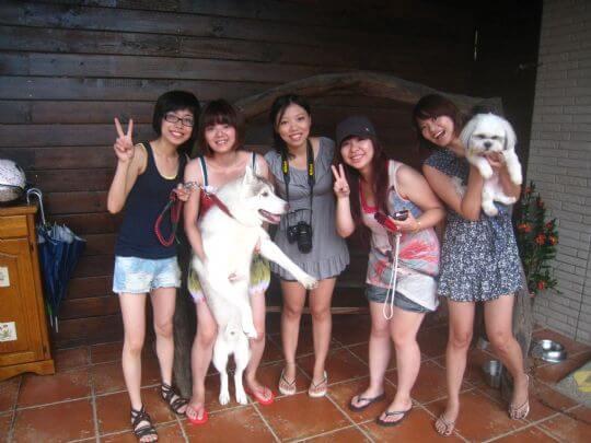 2010.8.21~22鄭小姐5人入住通鋪 相片來源:墾丁寵物民宿.哈CHEESE