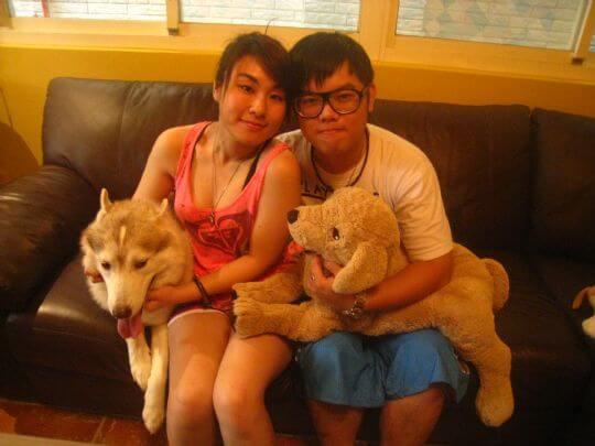 2010.8.21~22葉小姐2人入住蛋屋和船屋 相片來源:墾丁寵物民宿.哈CHEESE