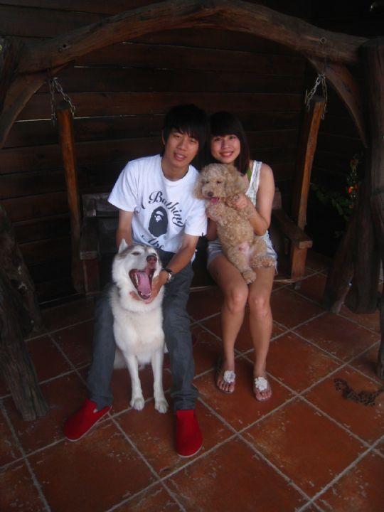 2010.8.26徐先生2人入住船屋 相片來源:墾丁寵物民宿.哈CHEESE