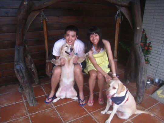 2010.8.28林小姐2人+2狗入住樹屋 相片來源:墾丁寵物民宿.哈CHEESE