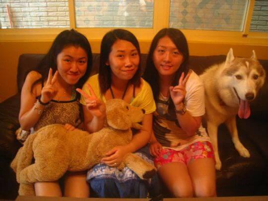 2010.8.29Sonia3個澳門人入住船屋 相片來源:墾丁寵物民宿.哈CHEESE
