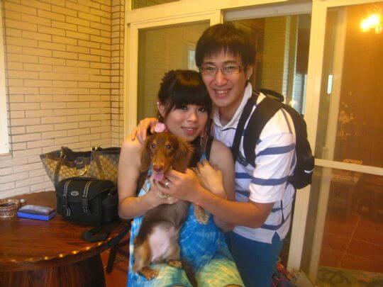 2010.9.1張先生3人+1狗入住船屋 相片來源:墾丁寵物民宿.哈CHEESE
