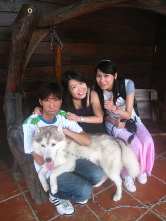 2010.9.5香港客人3人入住船屋 相片來源:墾丁寵物民宿.哈CHEESE