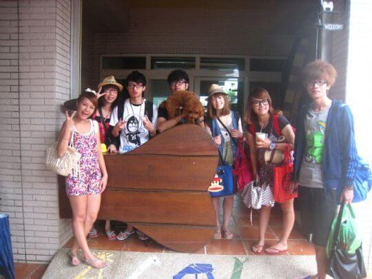 2010.9.7倪小姐7人+1狗入住通鋪 相片來源:墾丁寵物民宿.哈CHEESE