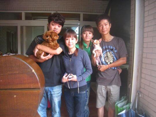 2010.9.7~8汪小姐4人+2狗入住蛋屋、船屋和樹屋 相片來源:墾丁寵物民宿.哈CHEESE