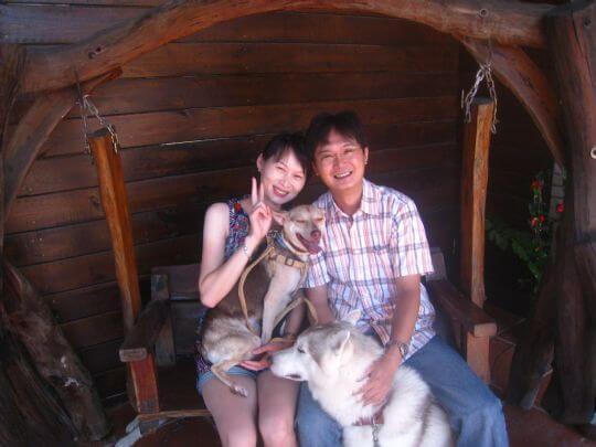 2010.9.10李小姐2人+1狗入住船屋 相片來源:墾丁寵物民宿.哈CHEESE