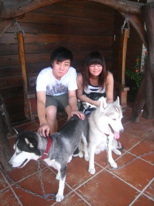 2010.9.10cho小姐2人入住蛋屋(香港人) 相片來源:墾丁寵物民宿.哈CHEESE