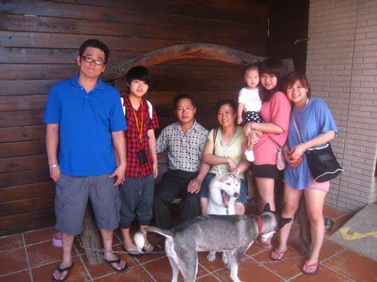 2010.9.11賴小姐3人入住蛋屋(家人住隔壁) 相片來源:墾丁寵物民宿.哈CHEESE