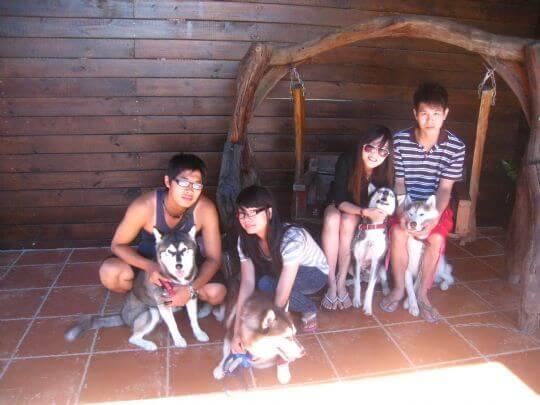 2010.9.12林小姐4人+2狗入住通鋪 相片來源:墾丁寵物民宿.哈CHEESE