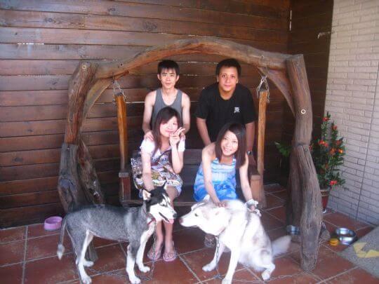 2010.9.12張小姐4人入住船屋和樹屋 相片來源:墾丁寵物民宿.哈CHEESE