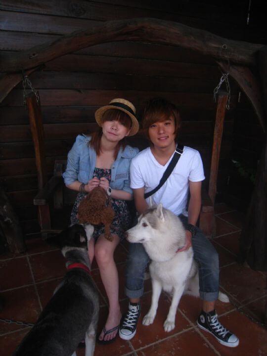2010.9.13賴小姐2人+1狗入住船屋 相片來源:墾丁寵物民宿.哈CHEESE