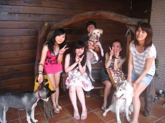 2010.9.17陳小姐5人+1狗入住通鋪 相片來源:墾丁寵物民宿.哈CHEESE