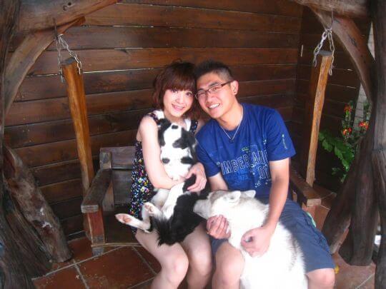 2010.9.17吳小姐2人+1狗入住樹屋 相片來源:墾丁寵物民宿.哈CHEESE