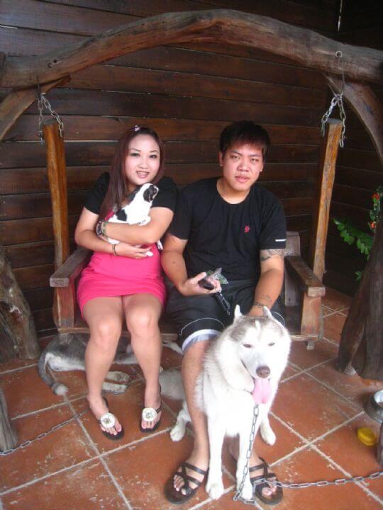 2010.9.22~23林先生2人+1狗入住船屋和蛋屋 相片來源:墾丁寵物民宿.哈CHEESE