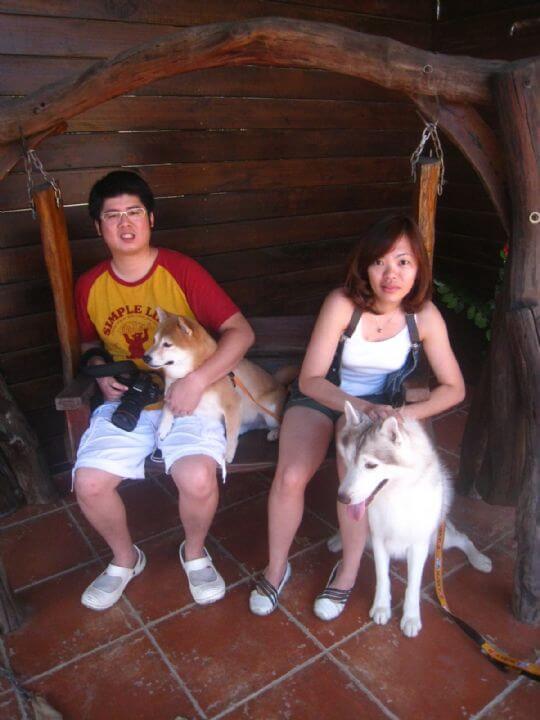 2010.9.26~27許小姐2人+1狗入住船屋 相片來源:墾丁寵物民宿.哈CHEESE
