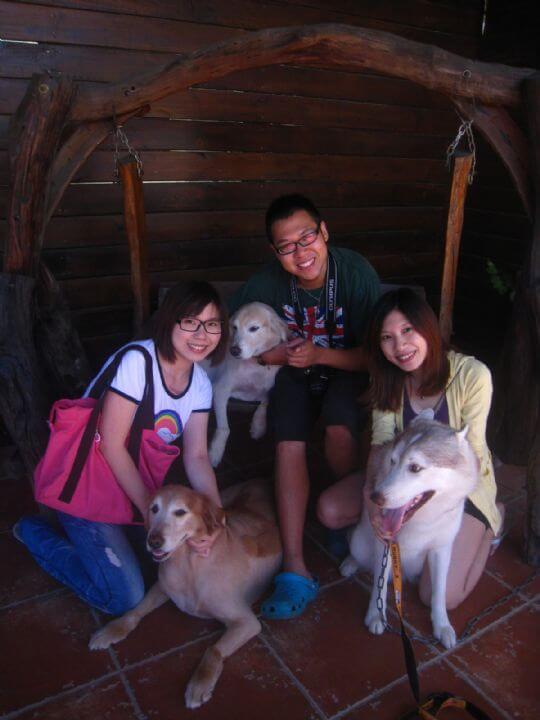 2010.9/28~29簡小姐5人+2狗入住通鋪 相片來源:墾丁寵物民宿.哈CHEESE