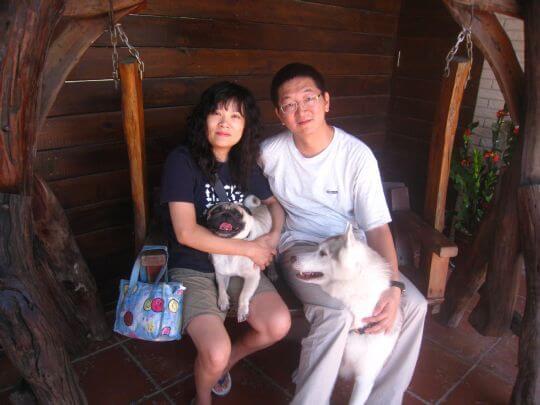 2010.10.1~2徐小姐2人+1狗入住船屋和樹屋 相片來源:墾丁寵物民宿.哈CHEESE
