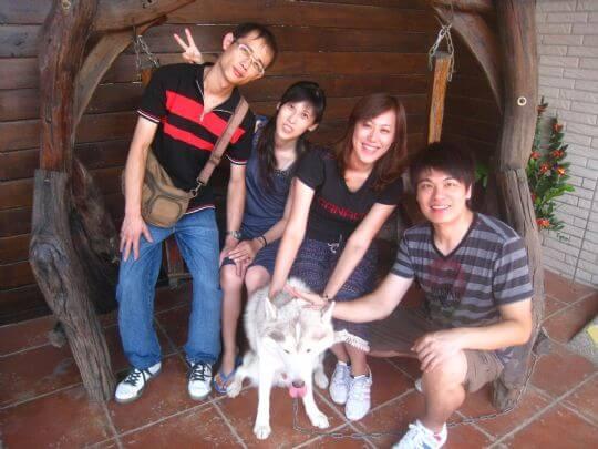 2010.10.8林小姐4人+4狗入住通鋪 相片來源:墾丁寵物民宿.哈CHEESE