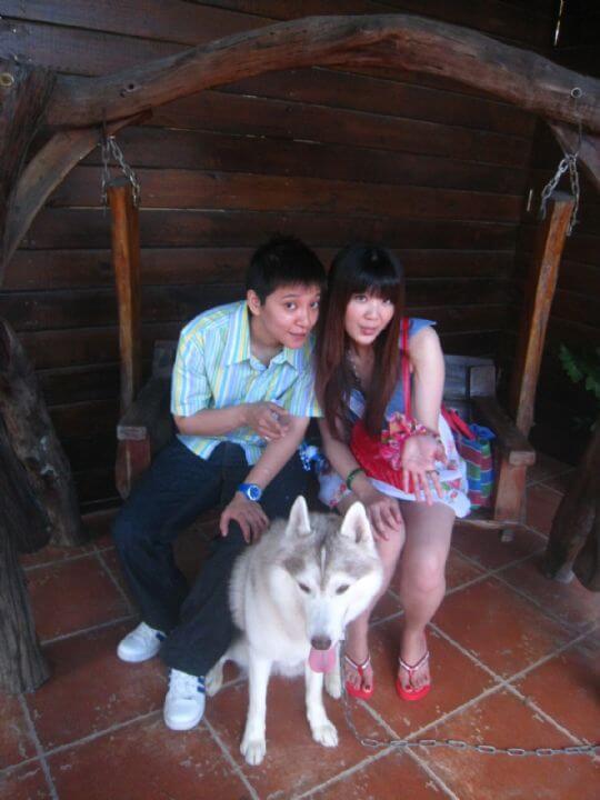 2010.10.9賴小姐2人入住船屋 相片來源:墾丁寵物民宿.哈CHEESE