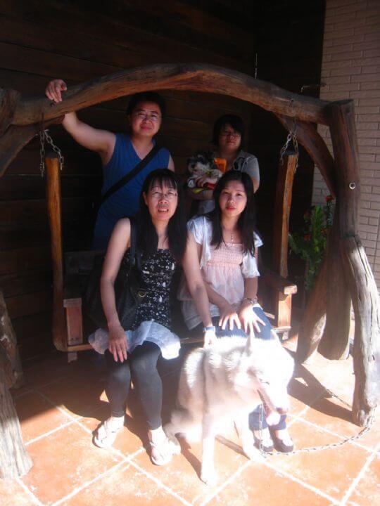 2010.10.11~12李先生4人+1狗入住通鋪 相片來源:墾丁寵物民宿.哈CHEESE