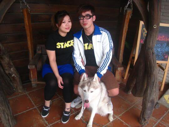 2010.10.17陳小姐2人入住船屋 相片來源:墾丁寵物民宿.哈CHEESE