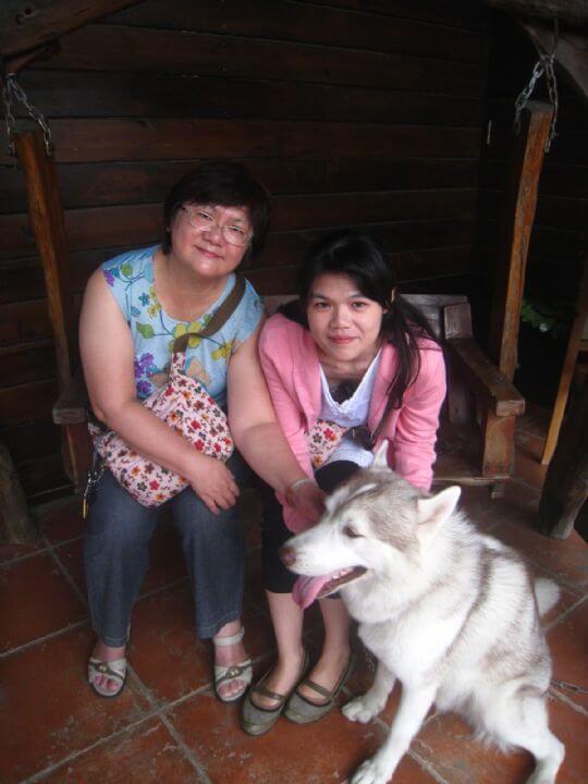 2010.10.25~26林小姐2人+1狗入住蛋屋和船屋 相片來源:墾丁寵物民宿.哈CHEESE