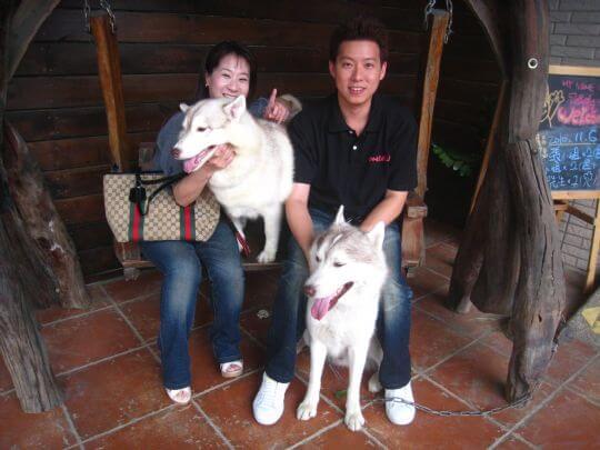 2010.11.5~6曾先生2人+1狗入住樹屋 相片來源:墾丁寵物民宿.哈CHEESE
