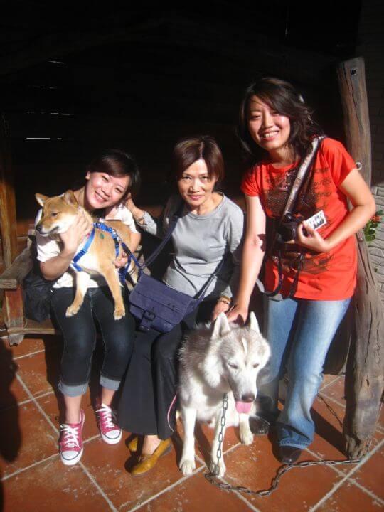 2010.11.20楊小姐3人+1狗入住船屋和蛋屋 相片來源:墾丁寵物民宿.哈CHEESE