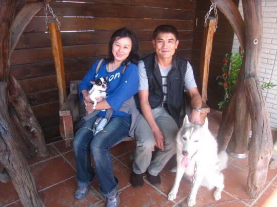 2010.11.24~25雷小姐2人+1狗入住樹屋和船屋 相片來源:墾丁寵物民宿.哈CHEESE