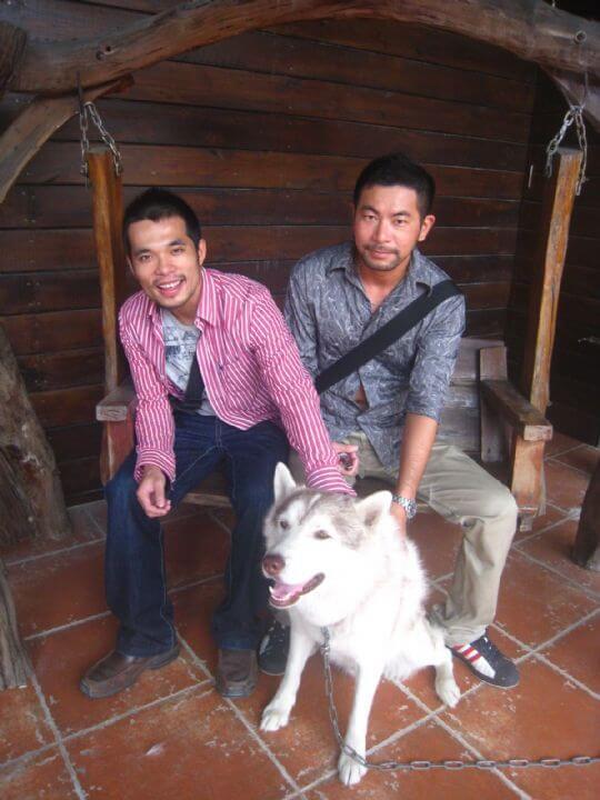 2010.12.12周先生2人入住蛋屋 相片來源:墾丁寵物民宿.哈CHEESE
