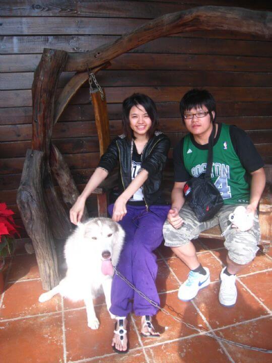 2010.12.18 陳先生2人入住船屋 相片來源:墾丁寵物民宿.哈CHEESE