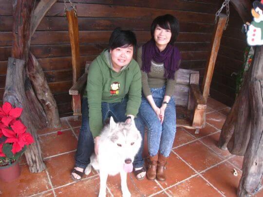 2010.12.25陳小姐2人入住蛋屋 相片來源:墾丁寵物民宿.哈CHEESE