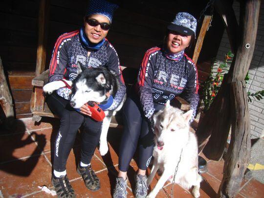 2010.12.26~27林小姐2人+1狗入住蛋屋和船屋 相片來源:墾丁寵物民宿.哈CHEESE