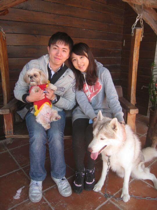 2010.12.27蘇小姐2人+1狗入住蛋屋 相片來源:墾丁寵物民宿.哈CHEESE
