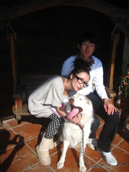 2010.12.29古優小姐2人+2貓入住船屋 相片來源:墾丁寵物民宿.哈CHEESE