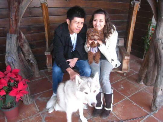 2011.1.1黑小孩2人+1狗入住船屋 相片來源:墾丁寵物民宿.哈CHEESE