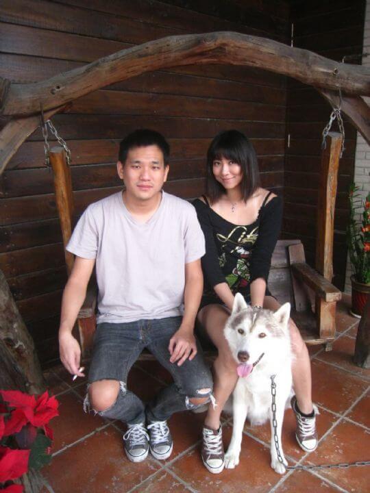 2011.1.7~8嚴小姐2人+1狗入住蛋屋 相片來源:墾丁寵物民宿.哈CHEESE