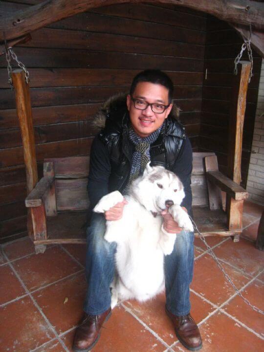2010.1.18楊先生和朋友2人入住船屋 相片來源:墾丁寵物民宿.哈CHEESE