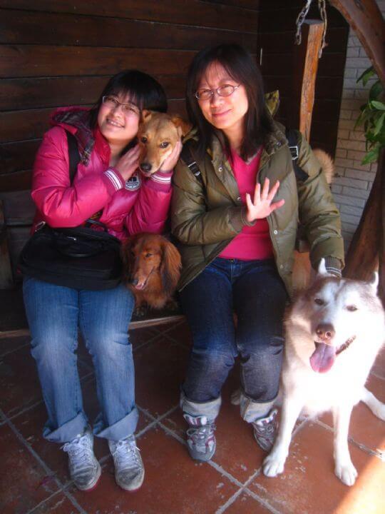 2011.1.22~23林小姐2人+2狗入住船屋 相片來源:墾丁寵物民宿.哈CHEESE