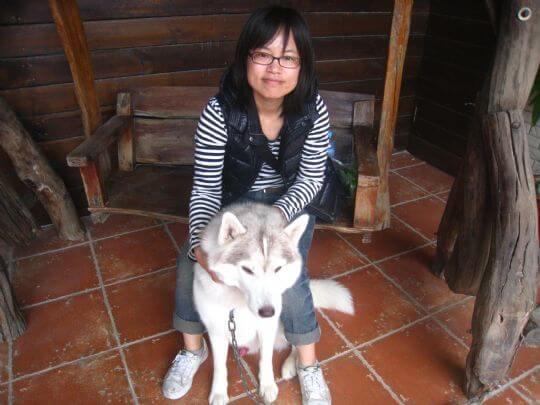 2011.1.29陳小姐1人+1狗入住蛋屋 相片來源:墾丁寵物民宿.哈CHEESE