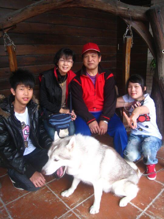 2011.1.29陳小姐4人+2狗入住通鋪 相片來源:墾丁寵物民宿.哈CHEESE