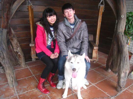 2011.1.29陳先生2人入住樹屋 相片來源:墾丁寵物民宿.哈CHEESE