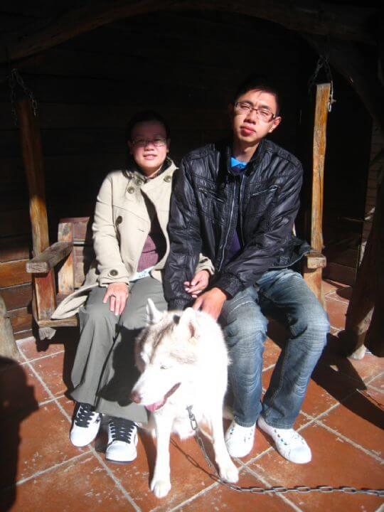 2011.1/30~2/1張先生2人入住蛋屋 相片來源:墾丁寵物民宿.哈CHEESE