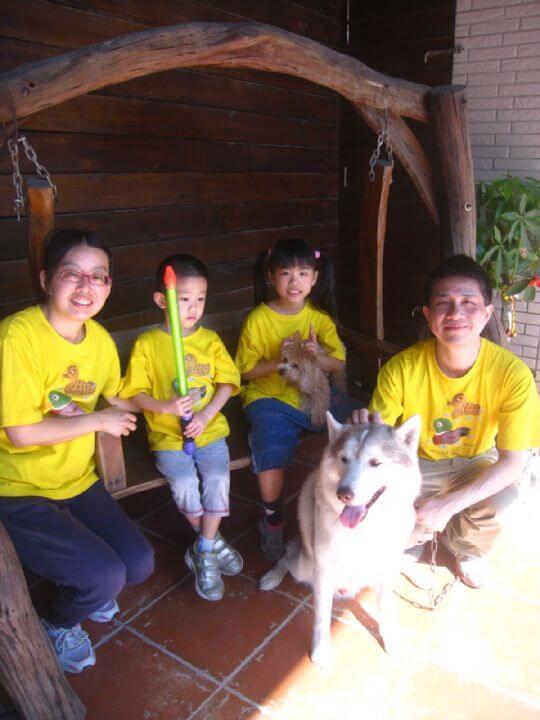 2011.2/7~2/8曾先生4人+1狗入住通鋪 相片來源:墾丁寵物民宿.哈CHEESE