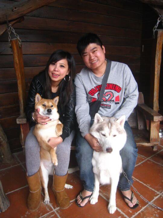 2011.2/11莊小姐2人+1狗入住樹屋 相片來源:墾丁寵物民宿.哈CHEESE