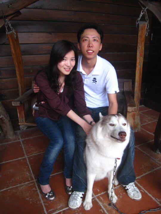 2011.2/12~13黃先生2人+1狗入住樹屋和船屋 相片來源:墾丁寵物民宿.哈CHEESE