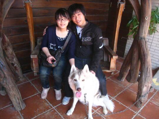 2011.2.14林先生2人入住蛋屋 相片來源:墾丁寵物民宿.哈CHEESE