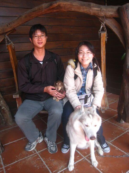 2011.2.17~18邱小姐2人入住蛋屋和船屋 相片來源:墾丁寵物民宿.哈CHEESE