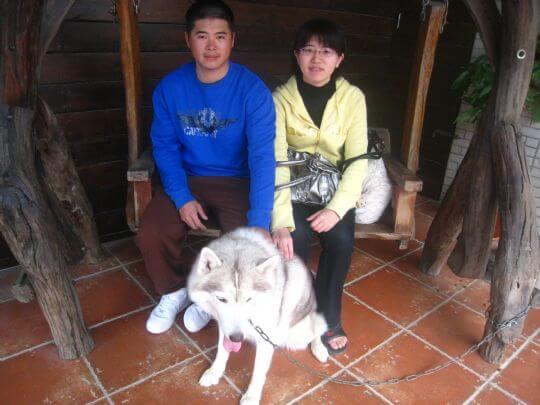 2011.2.19李先生2人入住船屋 相片來源:墾丁寵物民宿.哈CHEESE